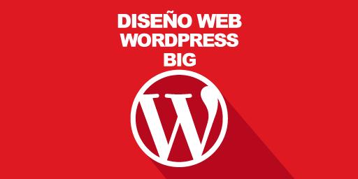 Diseño Web Wordpress Big