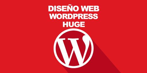 Diseño Web Wordpress Huge