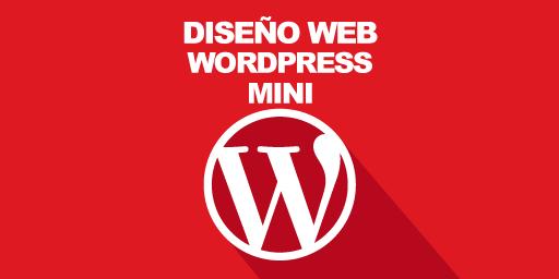 Diseño web Wordpress mini